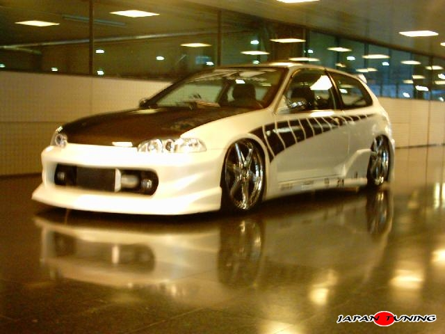 Japantuning honda civic need for speed underground