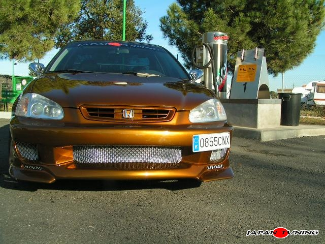 Japantuning honda civic coupe