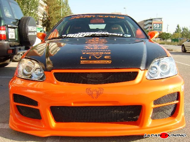 Japantuning HONDA CIVIC NEED FOR SPEED ORANGE