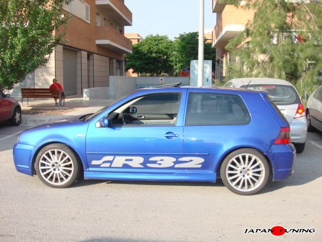 Japantuning GOLF 4 R32 DZ WHEELS