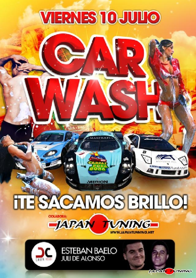 Japantuning Car wash bora bora 2009